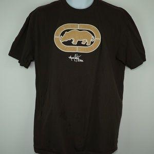 ECKO Unlimited Mens Size Large Brown Tan Logo